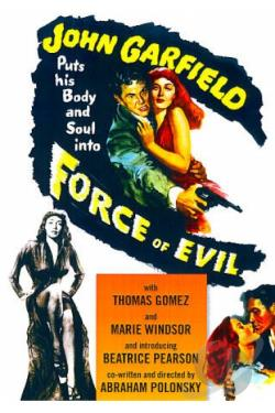 Force of Evil DVD Cover Art