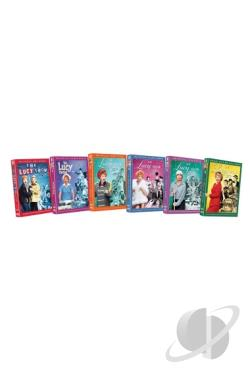 Lucy Show - The Complete Series DVD Cover Art