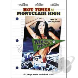 Hot Times At Montclair High DVD Cover Art