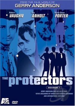 Protectors - The Complete First Season DVD Cover Art