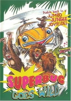 Superbug Goes Wild DVD Cover Art