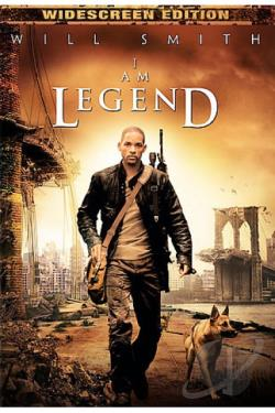 I Am Legend DVD Cover Art