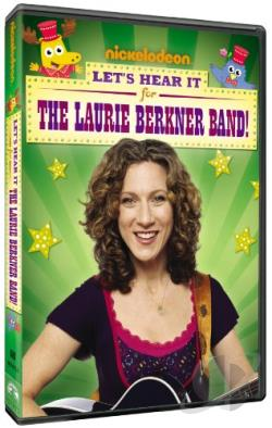 Laurie Berkner Band: Let's Hear It for the Laurie Berkner Band DVD Cover Art