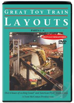 Great Toy Train Layouts DVD Cover Art