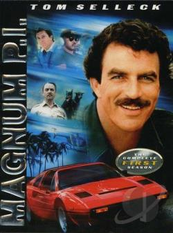 Magnum P.I. - The Complete First Season DVD Cover Art