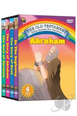 Old Testament Bible Stories For Children - Abraham DVD Cover Art