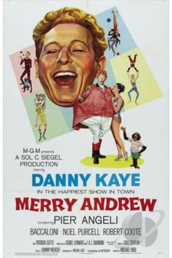 Merry Andrew DVD Cover Art
