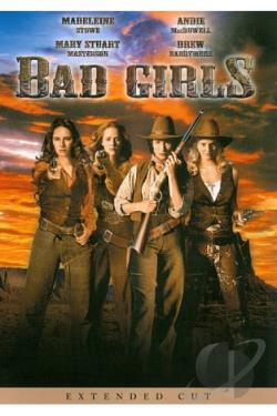 Bad Girls DVD Cover Art