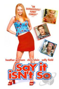 Say It Isn't So DVD Cover Art