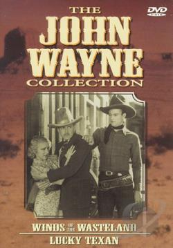 John Wayne Collection - Vol. 5: Winds Of The Wasteland/Lucky Texan DVD Cover Art