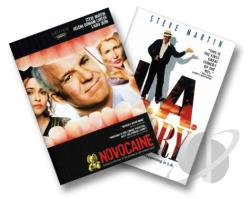 Novocaine/L.A. Story DVD Cover Art