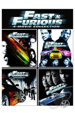 Fast And Furious 4-Movie Collection DVD Cover Art