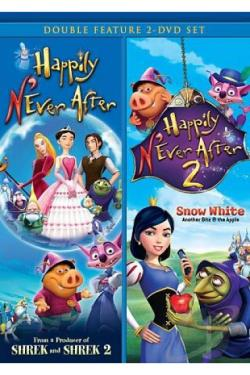 Happily N'Ever After/Happily N'Ever After 2 Double Feature DVD Cover Art