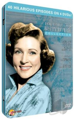 Fabulous Betty White DVD Cover Art