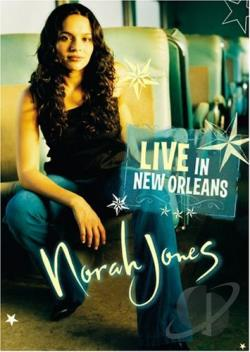 Norah Jones - Live in New Orleans DVD Cover Art