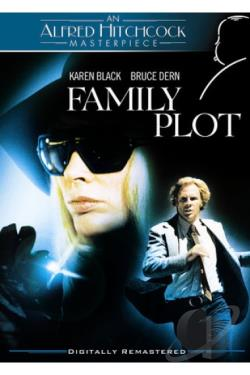 Family Plot DVD Cover Art