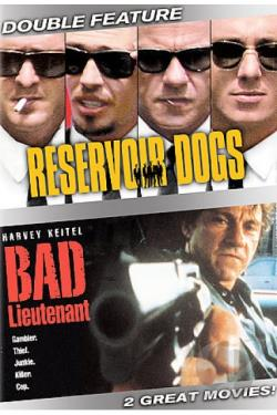 Reservoir Dogs/Bad Lieutenant DVD Cover Art