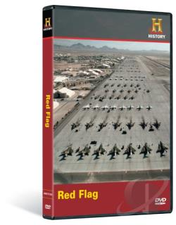 History Channel Presents - Red Flag DVD Cover Art