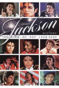Michael Jackson History: The King of Pop 1958-2009 DVD Cover Art