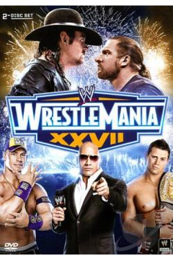 WWE: Wrestlemania XXVII DVD Cover Art