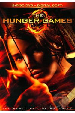 Hunger Games DVD Cover Art