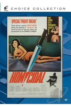 Homicidal DVD Cover Art