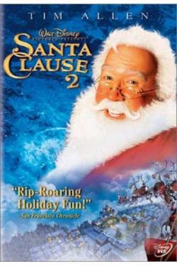 Santa Clause/The Santa Clause 2 2-pack DVD Cover Art