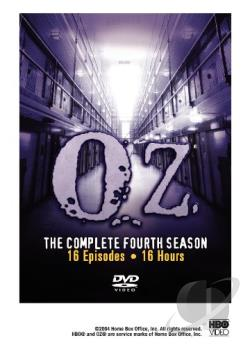 Oz - The Complete Fourth Season DVD Cover Art