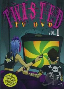 Twisted TV DVD - Vol. 1 DVD Cover Art