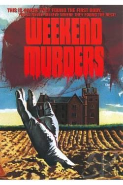 Weekend Murders DVD Cover Art