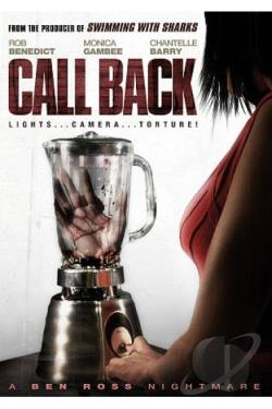 Call Back DVD Cover Art
