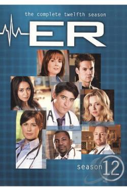 ER - The Complete Twelfth Season DVD Cover Art