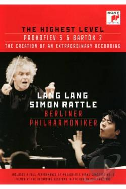 Lang Lang/Simon Rattle/Berliner Philharmoniker: The Highest Level - Prokofiev 3 and Bartok 2 DVD Cover Art