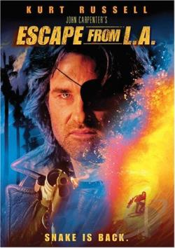 Escape From L.A. DVD Cover Art