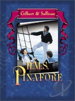 Gilbert & Sullivan - H.M.S. Pinafore DVD Cover Art