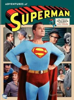 Adventures of Superman - The Complete 5th and 6th Seasons DVD Cover Art
