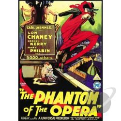 Phantom Of The Opera DVD Cover Art