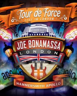 Joe Bonamassa: Tour de Force - Live in London, Hammersmith Apollo DVD Cover Art