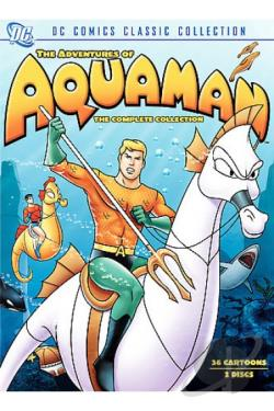 Adventures of Aquaman - The Collection DVD Cover Art