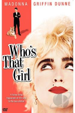 Who's That Girl DVD Cover Art