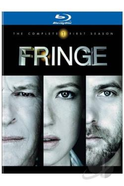 Fringe - The Complete First Season BRAY Cover Art