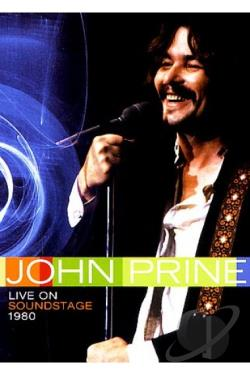 John Prine - Live on Soundstage 1980 DVD Cover Art