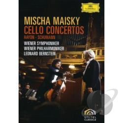 Maisky / Bernstein / Vienna Philharmonic - Cello Concertos DVD Cover Art