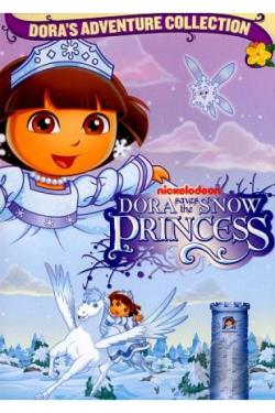 Dora the Explorer - Dora Saves the Snow Princess DVD Cover Art