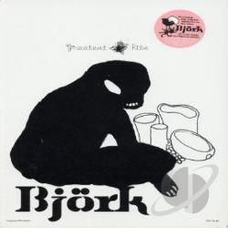 Bjork - Greatest Hits DVD Cover Art