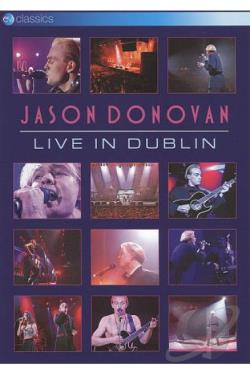 Jason Donovan: Live in Dublin DVD Cover Art