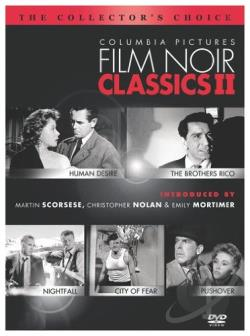 Columbia Pictures Film Noir Classics II DVD Cover Art