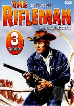 Rifleman - 3 Episodes DVD Cover Art