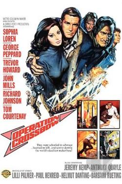 Operation Crossbow DVD Cover Art