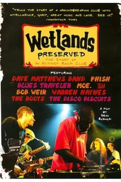 Wetlands Preserved: The Story of an Activist Nightclub DVD Cover Art